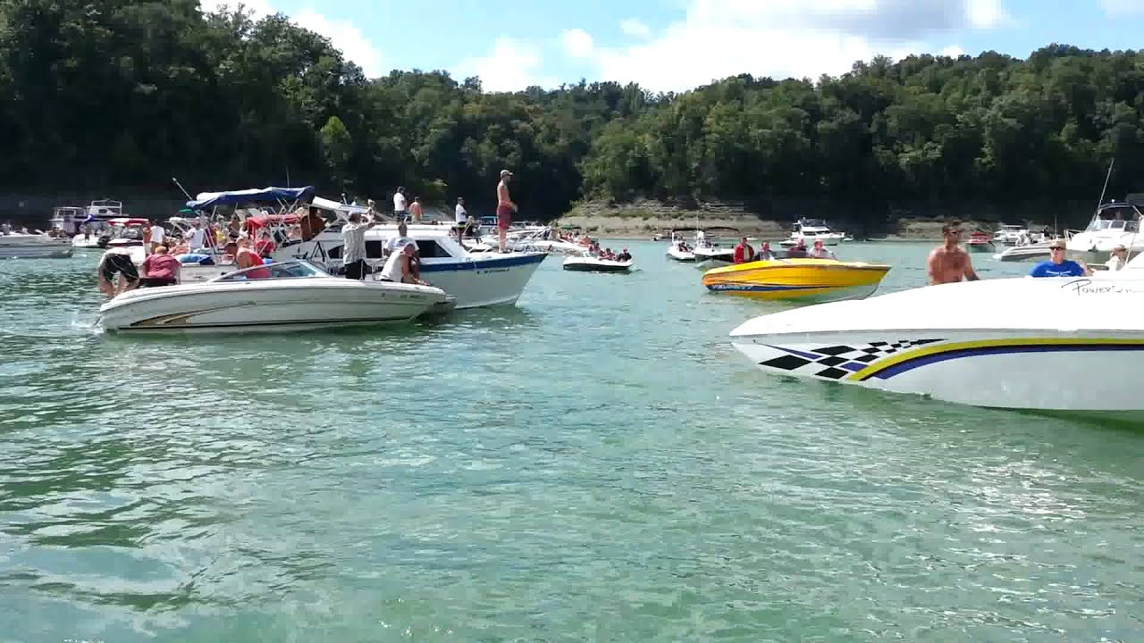 Poker run portage lakes