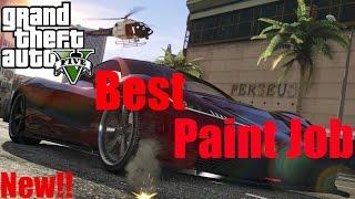 GTA 5 - Top 5 Paint Job For Progen T20 (Progen T20)