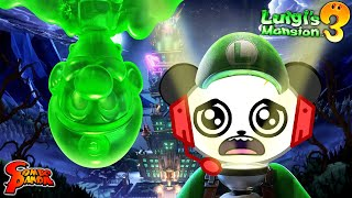 ESCAPE SCARY GHOSTS! Let's Play Luigi's Mansion 3 with Combo Panda
