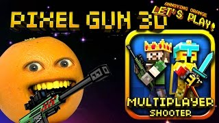 Annoying Orange Plays - Pixel Gun 3D: Slender Bender!