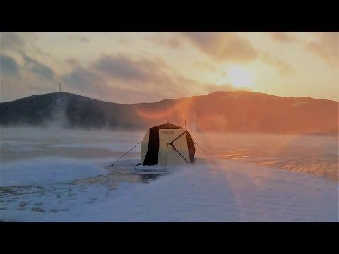Палатка Снегирь 3Т лонг в штормовой ветер, Казахстан, оз. Щучье 2016 год.