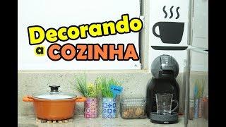 DECORANDO A COZINHA GASTANDO POUCO #CeFV  | PALOMA SOARES