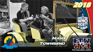 Recreating Doctor Who's Bessie - Mark Townsend Interview - London Comic Con 2018