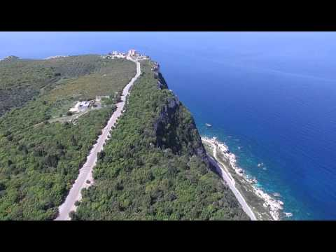 Fly over Hamate cape in North Lebanon (2)
