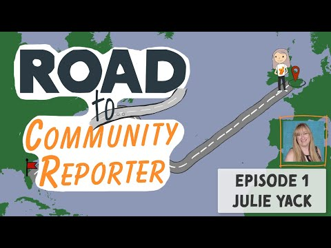 Julie Yack - Interview - Road To Community Reporter - Microsoft Ignite