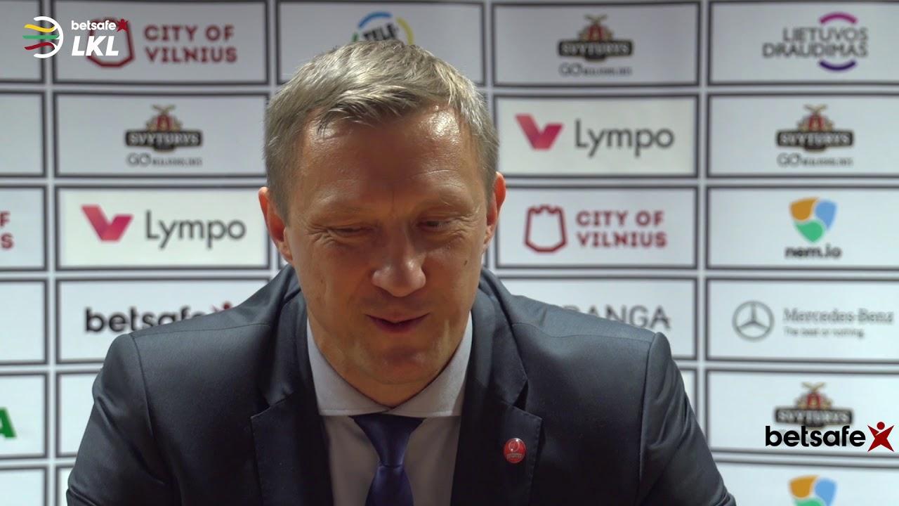 """""""Betsafe–LKL"""" rungtynių komentarai: """"Lietuvos rytas"""" - """"Juventus"""" [2018-05-19]"""
