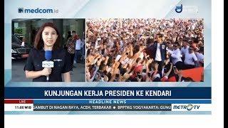 Kunjungan Kerja Jokowi ke Kendari