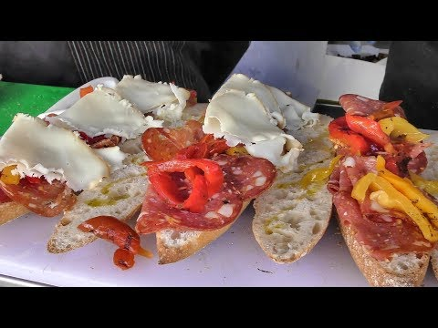 Italian Traditional Sandwiches. Old Spitalfields Market Market. London Street Food