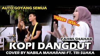 Download Lagu KOPI DANGDUT - FAHMI SHAHAB (LIRIK) COVER NABILA MAHARANI FT. TRI SUAKA DI MENOEWA KOPI mp3