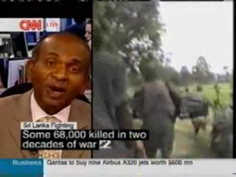 CNN News: Interview on  Liberation Tigers of Tamil Eelam