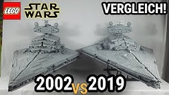 Vergleich 2002 vs 2019! | LEGO Star Wars Sternenzerstörer 75252 VS 10030 | UCS Series