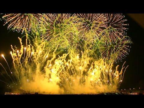 2013 長野えびす講煙火大会 ミュージックスターマイン♪ 信州煙火工業