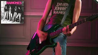 "Guitar Cover - ""Teenage Lobotomy"" - The RAMONES"