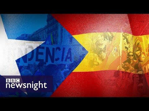 Catalonia declares independence - BBC Newsnight