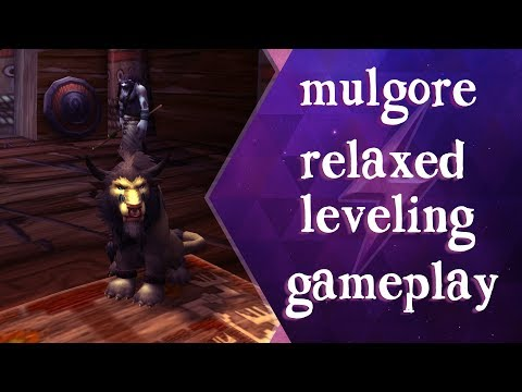 WoW Mulgore, Bloodhoof Village - Relaxing Ambient Gameplay - No Commentary