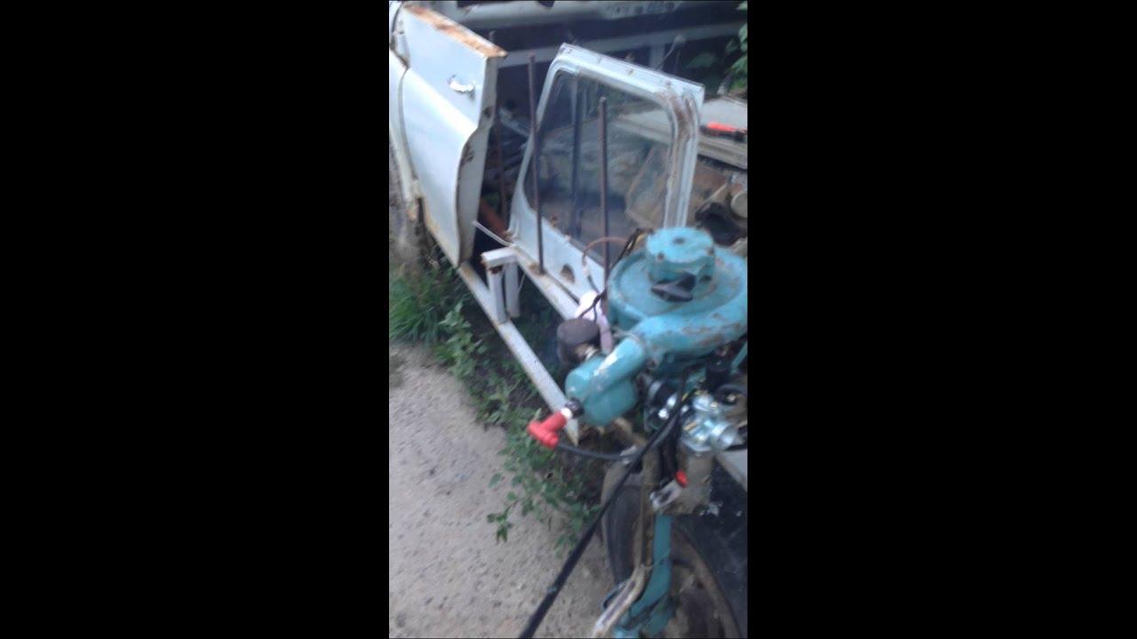 Самодельный лодочный мотор - YouTube