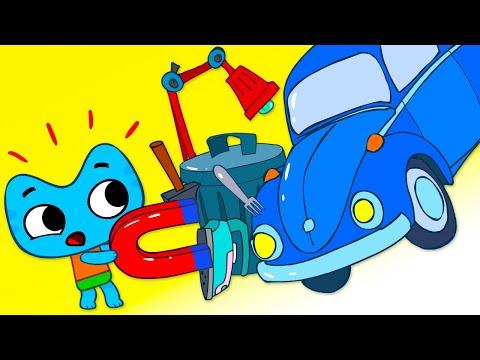 Котики, вперед! - Большой беспорядок  Серия 42 - развивающие мультфильмы для детей - видео онлайн