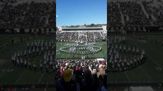 Western Michigan College Marching Band TV Show Medley 10/12/19