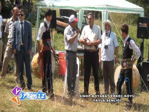 Yöremiz Töremiz - Sinop Boyabat Erkeç Köyü Yayla Şenliği 1.Bölüm