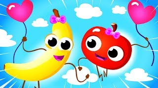Apples and Bananas 2! I Like to Eat Apples & Bananas! Yum Yum Fruits! by Little Angel