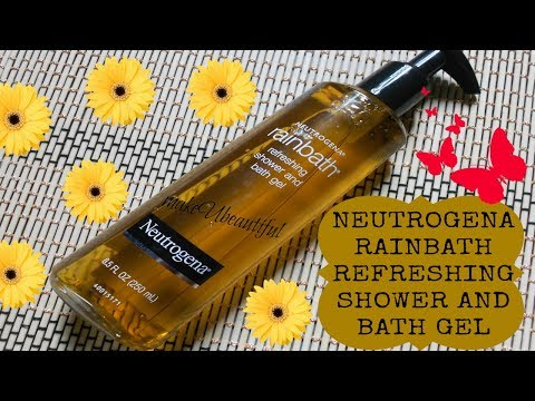 Neutrogena Rainbath Refreshing Shower and Bath Gel Review || Buy it or Not??!! || makeUbeautiful