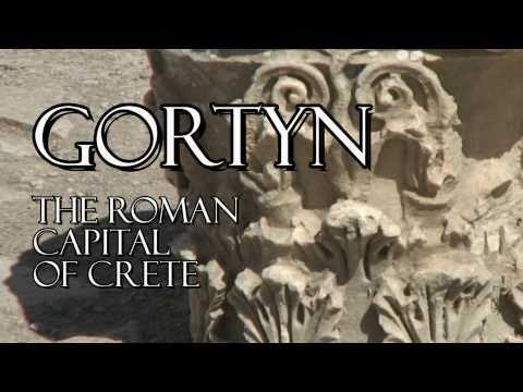 Gortyn Crete, The Roman  capital 67 BC