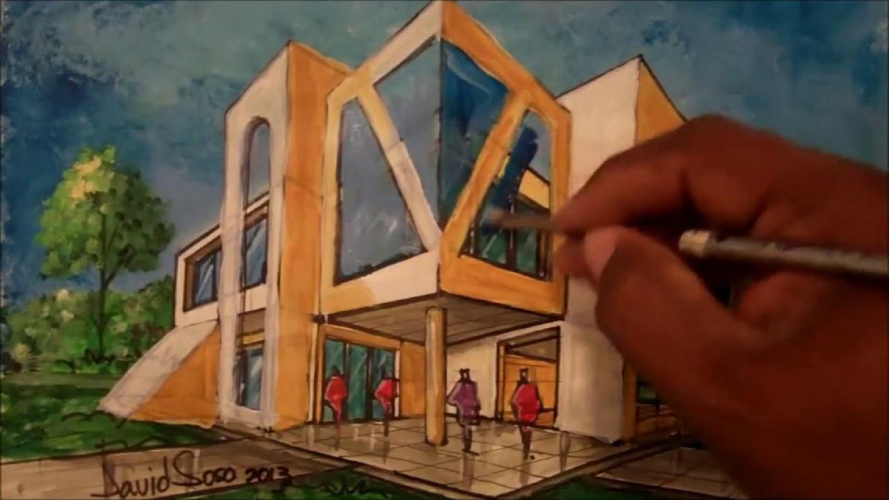 Como remodelar una perspectiva arq david sosa youtube for Como remodelar mi casa