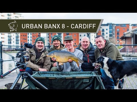 Urban Carp Fishing - URBAN BANX 8 - CARDIFF