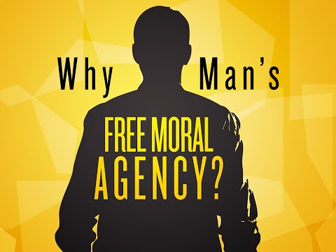Why Man's Free Moral Agency?