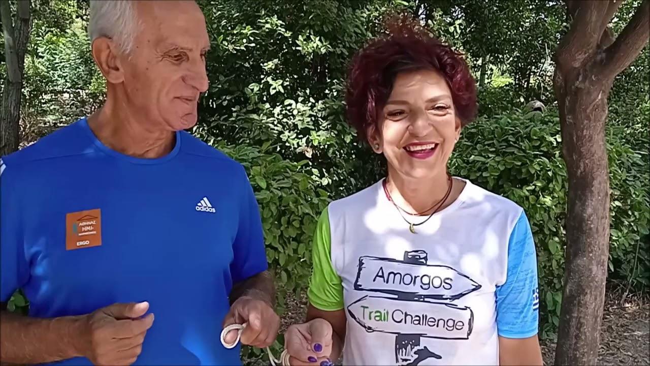 Δύο μαχητές της ζωής τρέχουν στο Μαραθώνιο της Αθήνας για  τo Home-Start