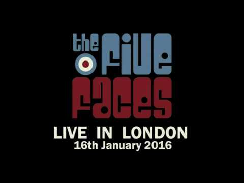 The Five Faces - I Can't Explain (Live In London DVD, Detour Records 2016)