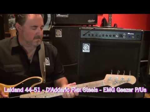 Ampeg BA-115 - Sound Clips