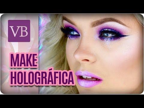 Maquiagem Holográfica - Você Bonita (04/04/18)
