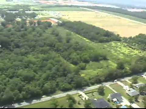 Helicopter Video Over Foley Alabama