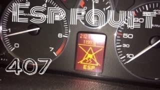 Abs esp fault peugeot 407 | ganti sensor abs