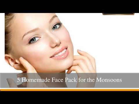 5 Homemade FacePack for the Monsoons - Clinic Dermatech