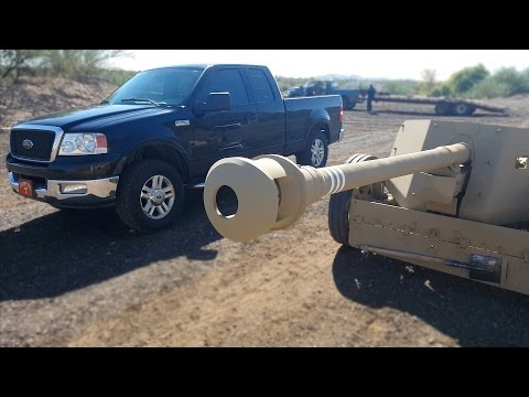 Anti Tank vs Truck - Fullmag Slow Motion