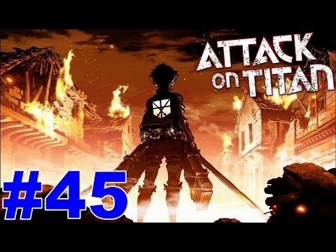 Attack on Titan Wings of Freedom Gameplay Walkthrough Part 45 The Major Resupply Operation