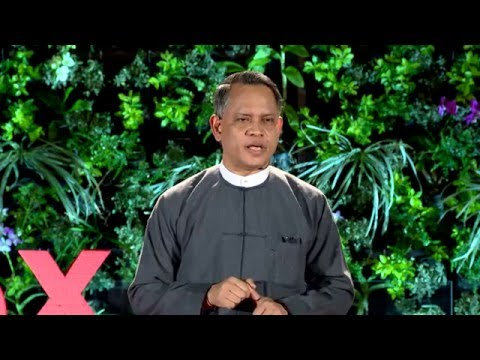 No, Minister: Life as a soldier and as a leader | Aung Naing Oo | TEDxInyaLake
