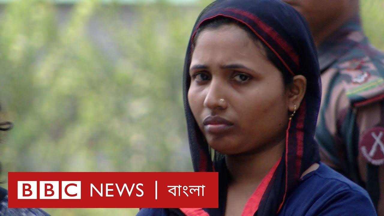 দলে দলে ভারত থেকে বাংলাদেশে ঢুকে পড়ছে মানুষ। BBC News বাংলা