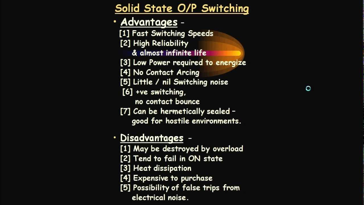 PLC part2difference Computer Vs PLC Relays Advantages and disadvantages  YouTube