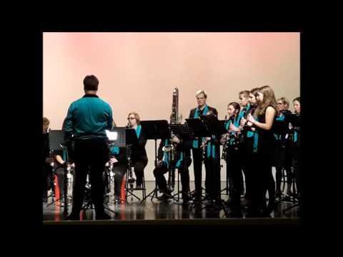 Clarinet Choir SAMWD Lier Air and gigue G F Handel Sint Niklaas 6 februari 2016
