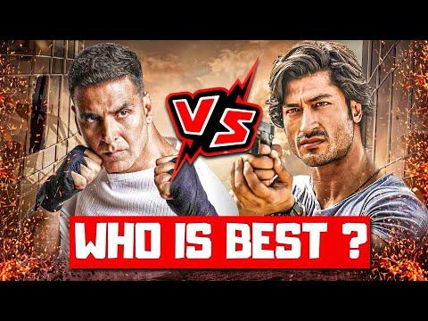 Vidyut Jamwal Vs Akshay Kumar Fight, Akshay Kumar Vs Vidyut Jamwal Comparison, Vidyut Jamwal Movies