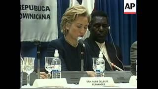 DOMINICAN REPUBLIC: HILLARY CLINTON VISIT