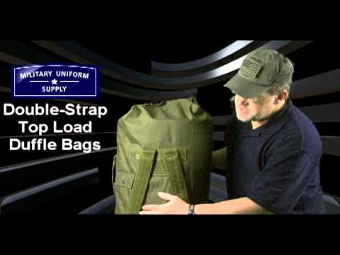 Double Strap Top Load Duffle Bags