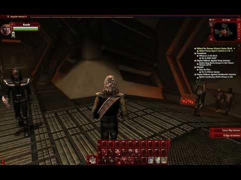 Star Trek Online: Klingon Ship Interiors