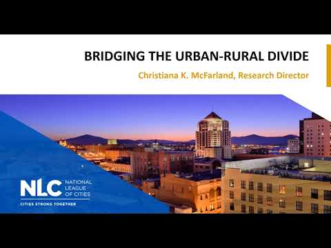 Bridging the Divide Between Urban and Rural Areas