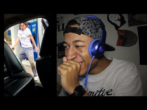 White Girls Turn Up To Fetty Wap Jimmy Choo At The Gas Station REACTION!!!