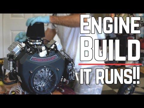 Predator 670cc Dragster Build Pt  4 - YouTube