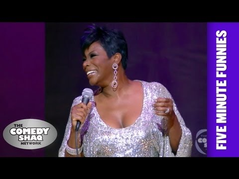 Sommore⎢When you're Black you just gotta be Black⎢Shaq's Five Minute Funnies⎢Comedy Shaq
